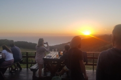 Wildfarm Sunset, Wilderness, Garden Route, South Africa